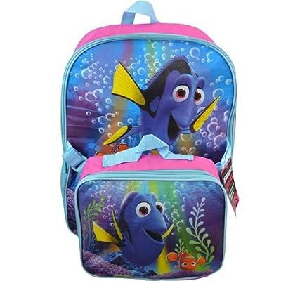 ed2de925da7 Disney Pixar Finding Dory Deluxe Backpack and Lunch Bag Set