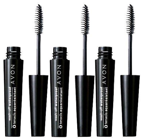Lot of 3 - Avon Wash-off Waterproof Mascara - Black
