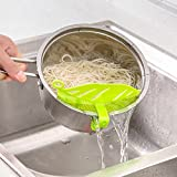 Lucrative shop Leaf Rice Wash Sieve Beans Vegetable Fruits Clean...