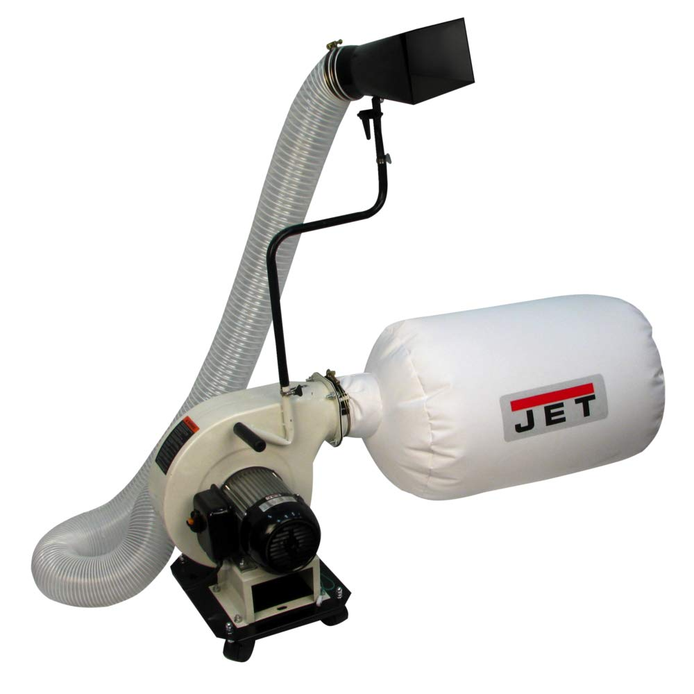Jet 717500 Dc-500P Dust Collector, portable, White by Jet