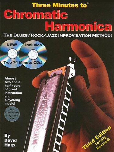 (Three Minutes to Chromatic Harmonica: The Blues/Rock/Jazz Improvisation Method!)