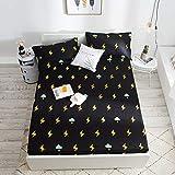Best Queen Waterproof Bed Sheet Protectors - Fumak: Pink Fitted Sheet 1pc Waterproof Bedsheet Waterproof Review
