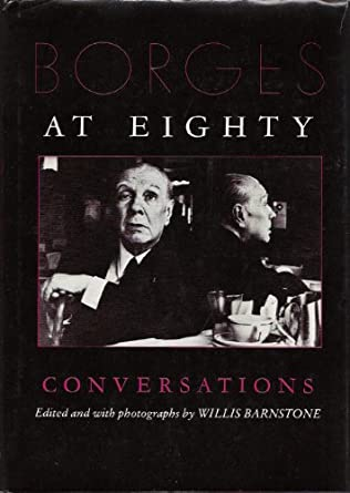 book cover of Borges at Eighty
