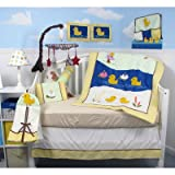 13 Piece Quack Quack Ducks Baby Crib Nursery Bedding Set