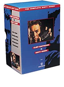 The Complete Dirty Harry (Dirty Harry/Enforcer/Magnum Force/Dead Pool/Sudden Impact) [VHS]