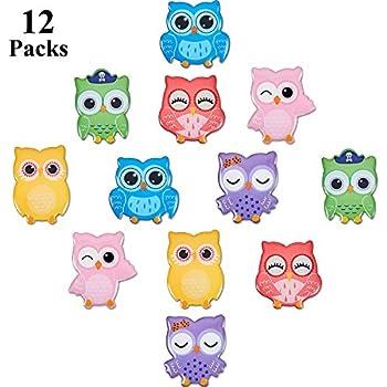 Five gorgeous owl fridge,memo,decor magnets free bag Lovely gift idea
