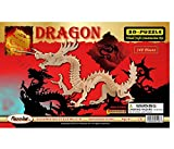 3-D Dragon Puzzle: 148 Wooden Pieces (No. 1506)