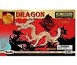 3-D Dragon Puzzle: 148 Wooden Pieces...