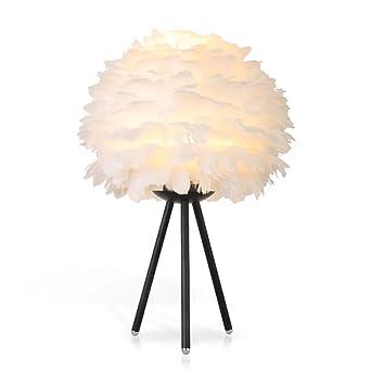 Nordic Minimalist Tischlampe Warm Und Modische Feder Schreibtischlampe  Kreative Stativ Schmiedeeisen Leselampe Für Schlafzimmer Wohnzimmer Büro