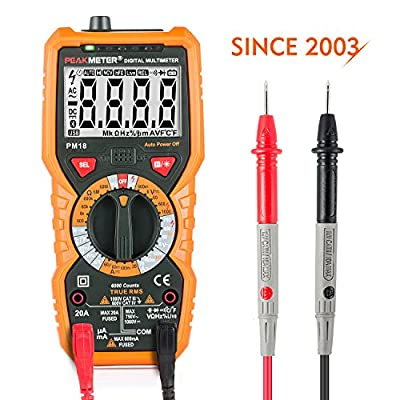 Multimeter Janisa PM18/18C AC DC Digital Multimeter Voltage Current Tester Non-contact Voltage Test