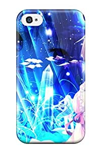 VTulyKW4379kIHPb Case Cover Anime Girl Iphone 4/4s Protective Case