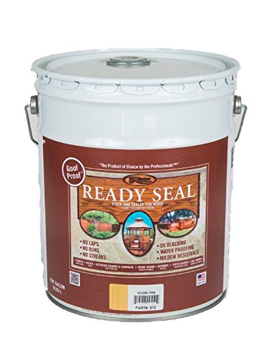 Ready Seal 510 5-Gallon Pail Golden Pine Exterior Wood Stain and Sealer by Ready Seal