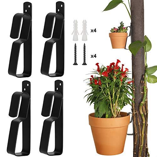 Plant Pot Latch Hangers Flower Pot Clips