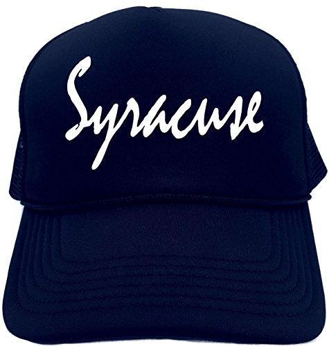 Funny Trucker Hat (SYRACUSE (NEW YORK)) Unisex Adult Foam Retro - New In Syracuse Shopping York