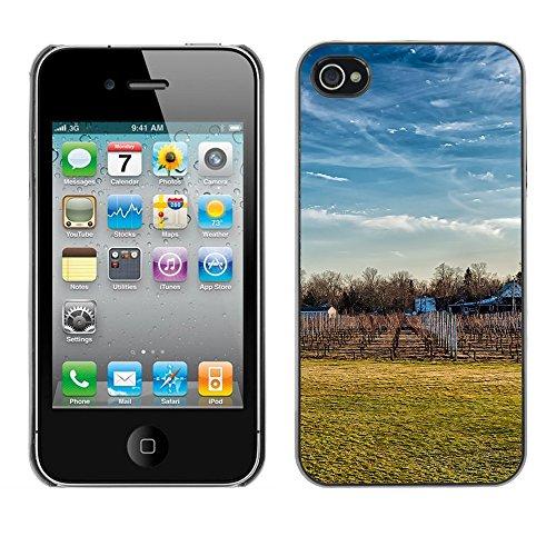 Premio Sottile Slim Cassa Custodia Case Cover Shell // F00032412 La chute de la vigne // Apple iPhone 4 4S 4G