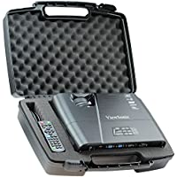 Skywin Portable Travel Hard Case for ViewSonic PJD5155 3300 Lumens SVGA HDMI Projector