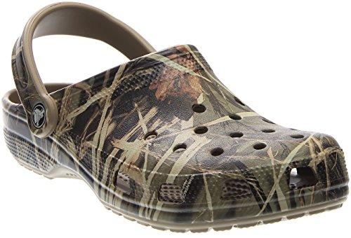 crocs Classic Realtree Herren Clogs Braun