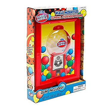 Amazon.com : Wall Mounted Gumball Machine Dispenser Frame with ...