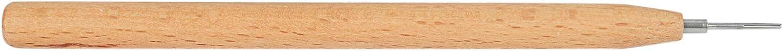 Vaorwne 3 Pcs Diffraction Paper Tool Quilling Paper Pen DIY Wood Handle Handmade Tools Paper Specialty Supplies Reel