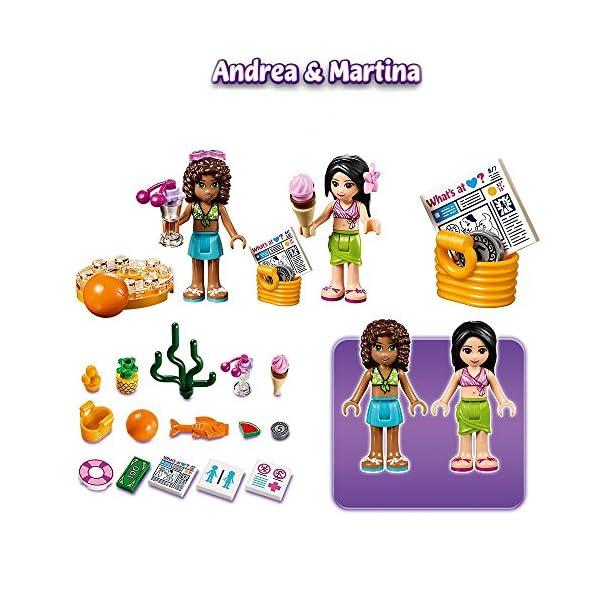LEGO Friends La Piscina all'Aperto di Heartlake, Multicolore, 41313 3 spesavip
