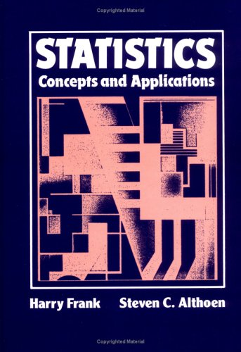 Statistics: Concepts and Applications Workbook