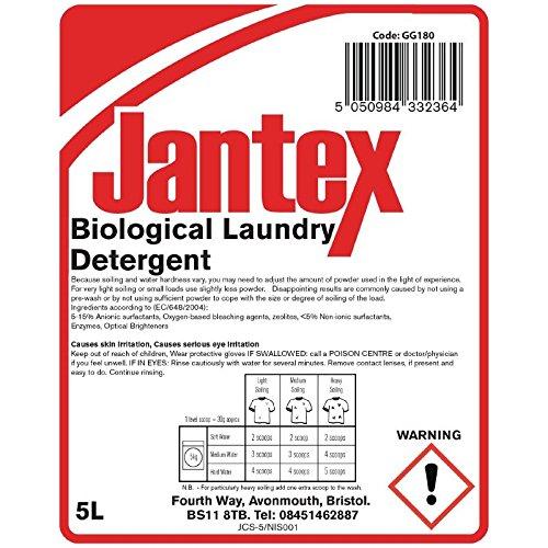 8.1/kg Jantex Gg180/Lessive biologique