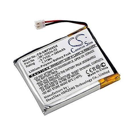 NX - Batería para smartwatch para Apple 3.7V 300mAh: Amazon ...