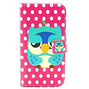 GOG-Owl Design PU Leather Full Body Case with Stand and Card Slot for Samsung Galaxy S3 I9300