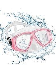 KOROSTRO Taucherbrille Erwachsene, Anti-Fog Schnorchelbrille Schwimmbrille Tauchmaske, Wasserdicht, Lecksicher, UV Schutz, Verstellbares Silikonband, Schnorcheln Enthusiasten Beste Wahl- Blau