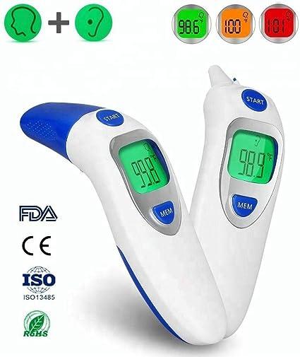 Bébé Thermomètre infrarouge Digital LCD corps mesure front oreille enfants