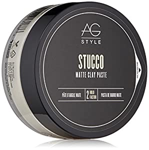 AG Hair Style Stucco Matte Clay Paste 2.5 Fl Oz by PerfumeWorldWide, Inc. Drop Ship