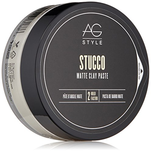 AG Hair Style Stucco Matte Clay Paste, 2.5 Fl Oz ()