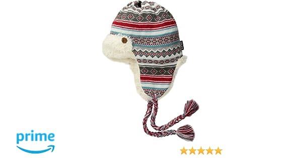 Amazon.com: MUK LUKS Women's Fairisle Trapper, Ivory, One Size ...