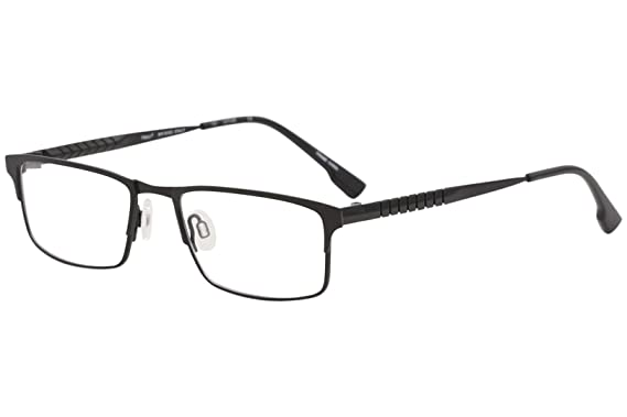 e0396f7d5f87 Eyeglasses FLEXON E1010 001 BLACK CHROME at Amazon Men s Clothing store