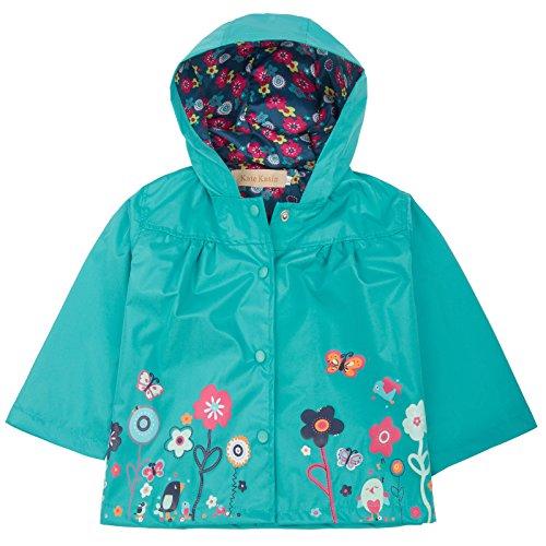 83b9566f6705 Jual Kids Girls Waterproof Hooded Coat Long Sleeve Jacket Outwear ...