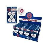 123-Wholesale - Set of 48 Arizona Ping Pong Balls Countertop Display - Sporting Goods Indoor Games