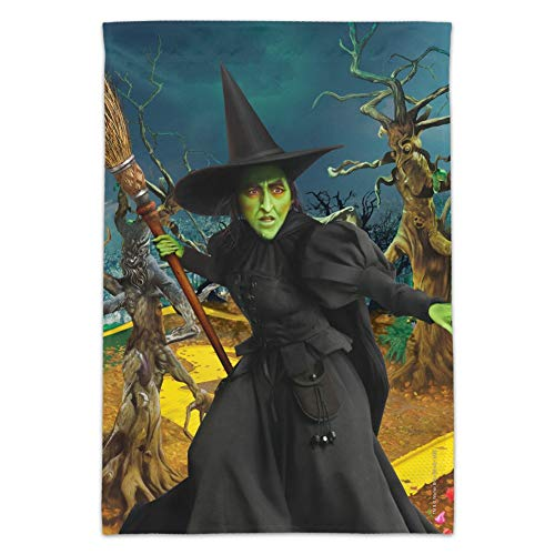 GRAPHICS & MORE Wizard of Oz Wicked Witch Character Garden Yard Flag (Pole Not Included)