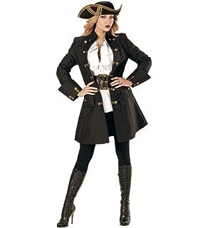 Nuevo pirata para mujer-camiseta de manga larga con volantes, colour blanco, 34 Gr.: Amazon.es: Juguetes y juegos