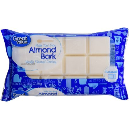 Vanilla Almond Bark, 24 OZ segmented bar