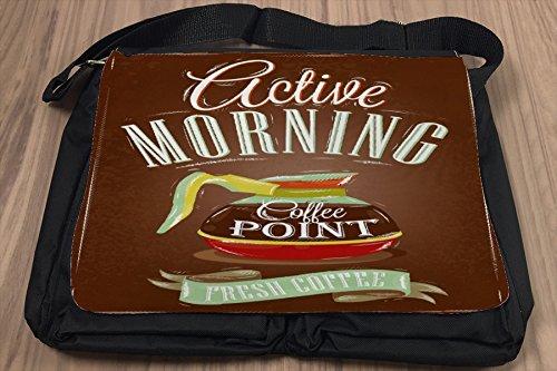 Borsa Tracolla Ristorante Cucine Caffè fresco Stampato