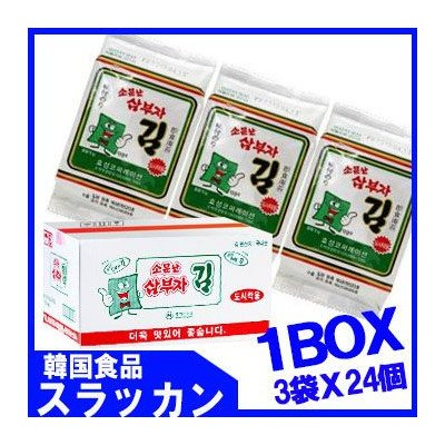 Sanbuja glue - for lunch (5gX3) 24 pieces 1BOX [parallel import goods]