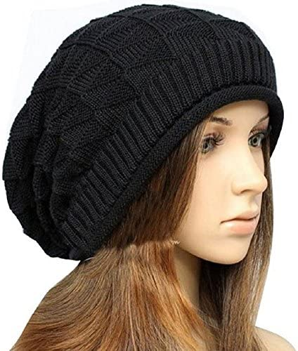 Cdet Sombrero de Punto orecchiette Winter Warm Gorra de Lana para ...