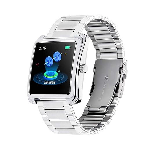 smart watch Pulsera Inteligente Negra Pasos de Pulsera de ...