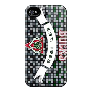 Durable Protector Case Cover With Milwaukee Bucks Hot Design For Iphone 4/4s