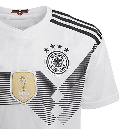 adidas Kids Boy's 2018 Germany Home Jersey (Little Kids/Big Kids) White/Black X-Large