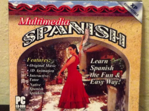 Learn Spanish the Fun & Easy Way! (CD ROM Software, XP Compatible)