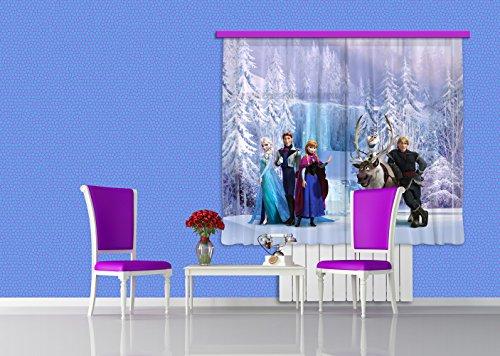 Tende Per Bambini Disney : Ag design tende disney frozen tende per camera bambini