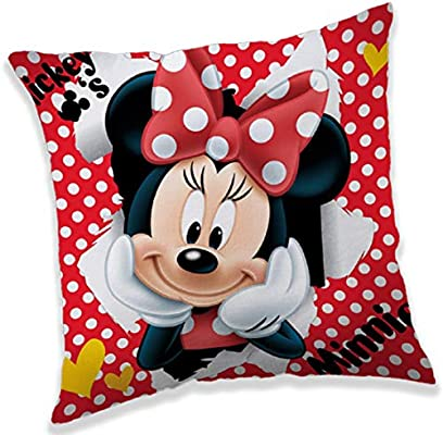 Minnie Mouse Cojín Forma de Corazón Disney 37 x 30 cm Manta ...