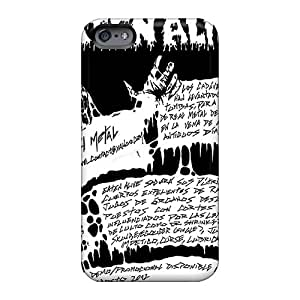 TimeaJoyce Iphone 6plus Anti-Scratch Hard Phone Cover Provide Private Custom Lifelike Grave Band Pattern [rPc19626IddY]