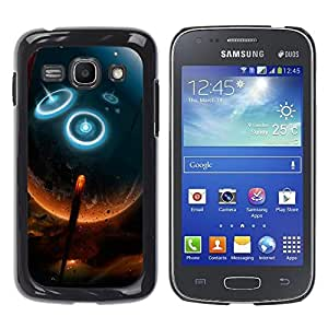 Stuss Case / Funda Carcasa protectora - Firebeam Meteroid Into The Earth - Samsung Galaxy Ace 3